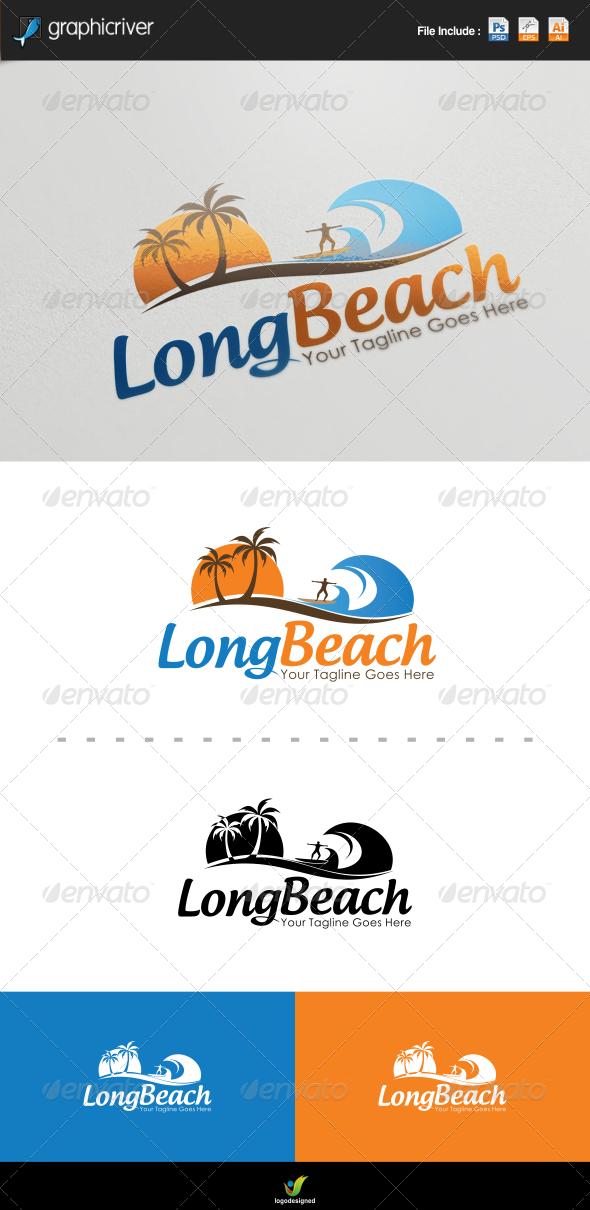 GraphicRiver Beach Logo Template 7794148