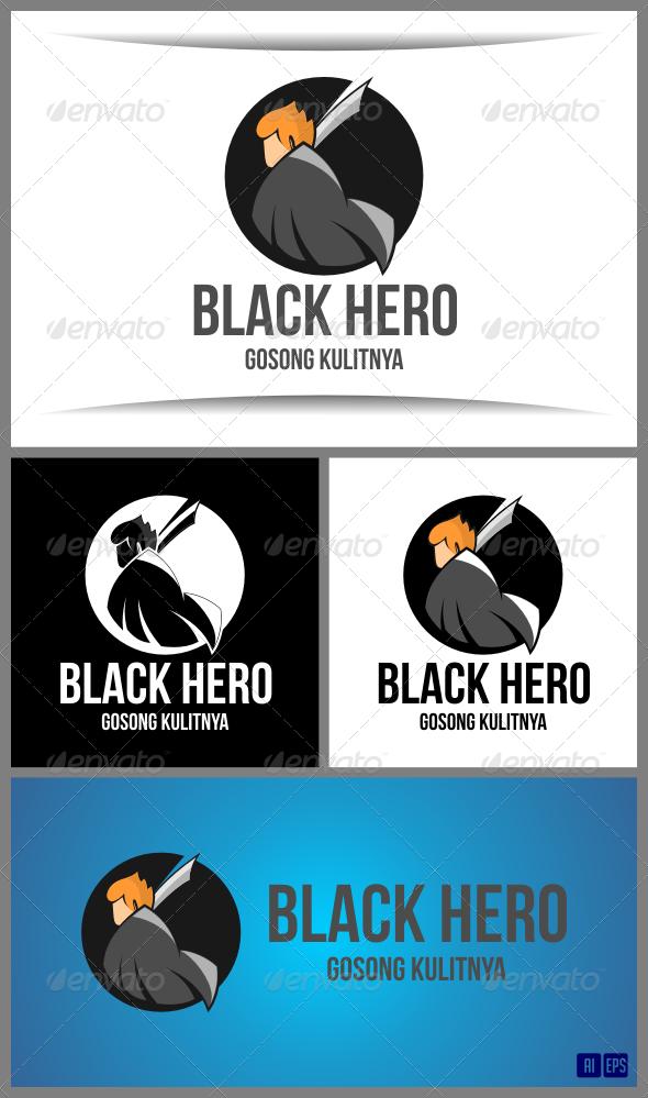 GraphicRiver Black Hero 7795003
