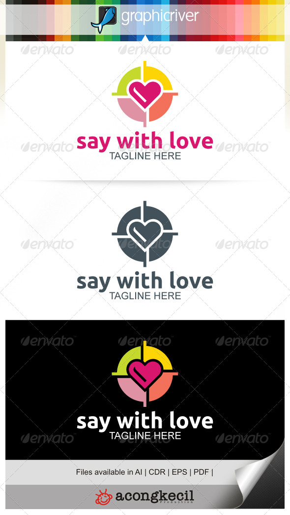 GraphicRiver Say With Love 7795605