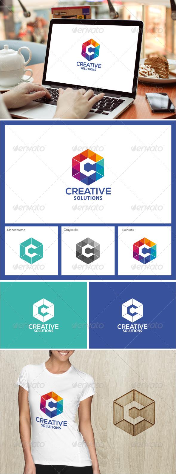 GraphicRiver Creative Solutions Logo template 7796320