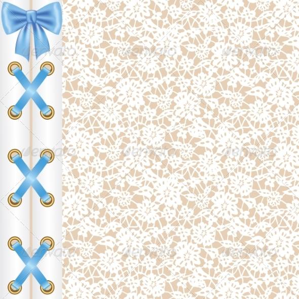 GraphicRiver Lace Corset 7796364