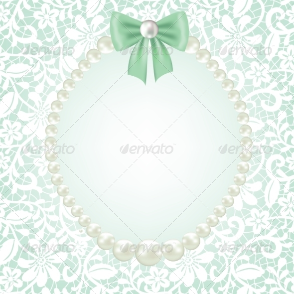 GraphicRiver Lace Frame 7796416