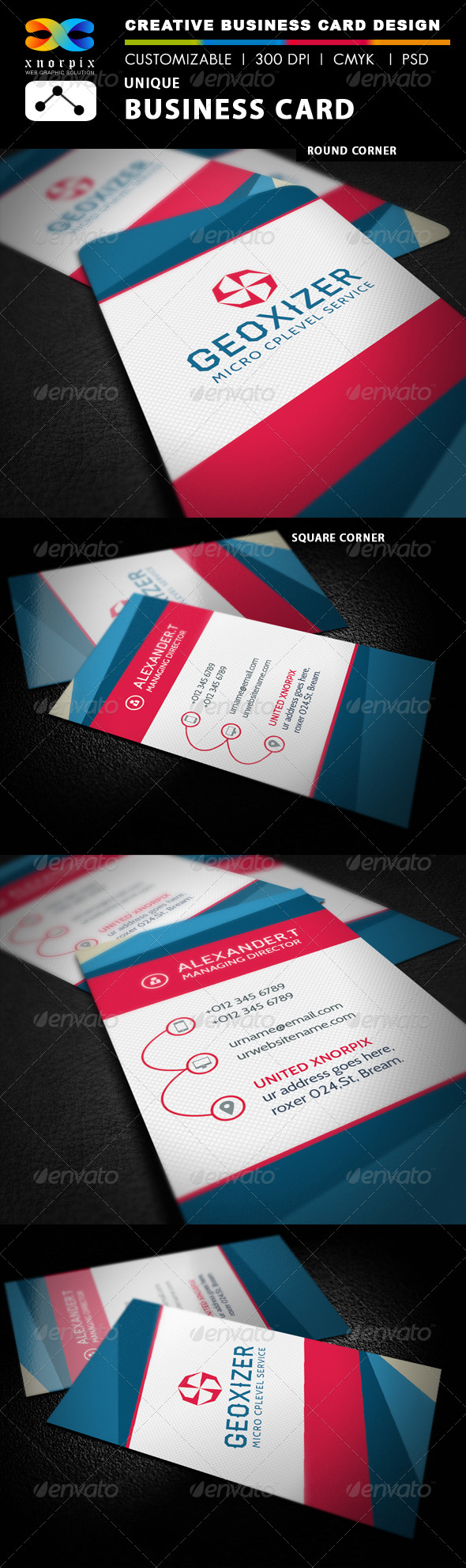 GraphicRiver Luxury Business Card 7799111