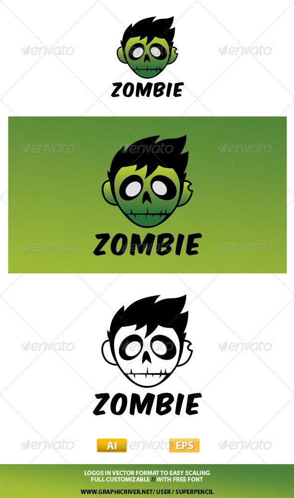 GraphicRiver Zombie Logo 7803028