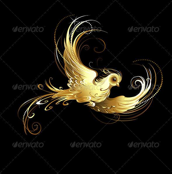 GraphicRiver Golden Bird 7803764