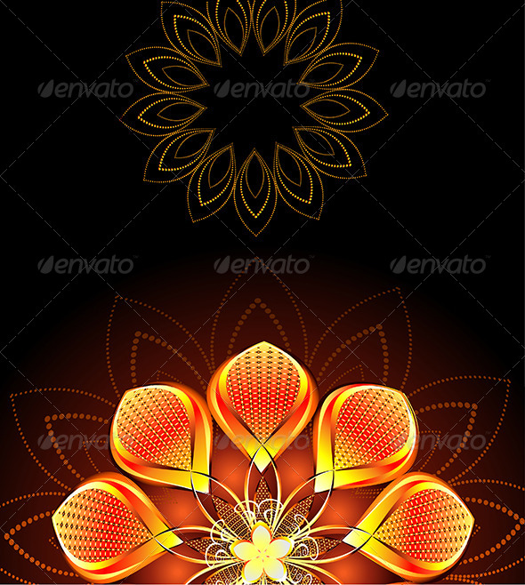 GraphicRiver Abstract Bright Flower 7803890
