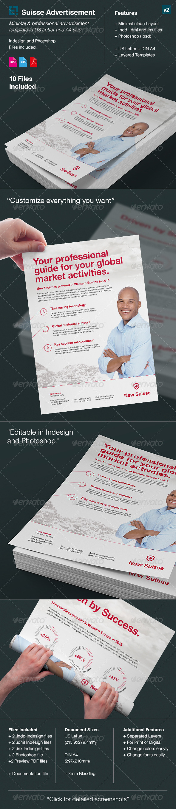GraphicRiver Suisse Corporate Advert US Letter A4 v2 7804701
