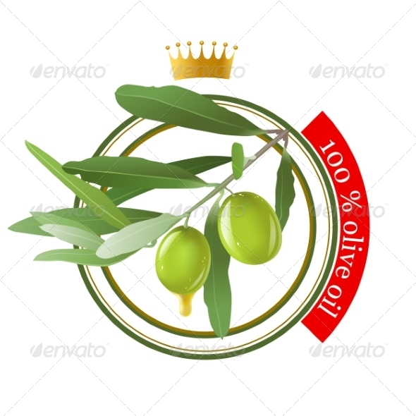 GraphicRiver Olive Oil Stamp 7806041