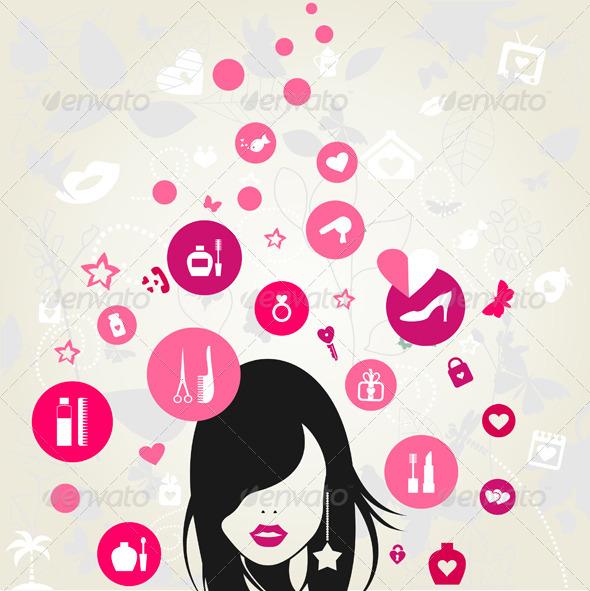 GraphicRiver Woman 7806536