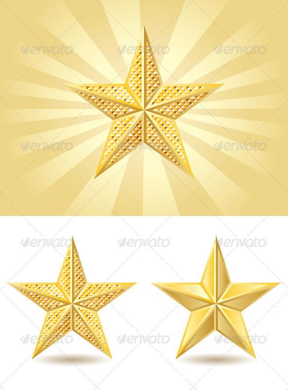 GraphicRiver Golden Star 7808862