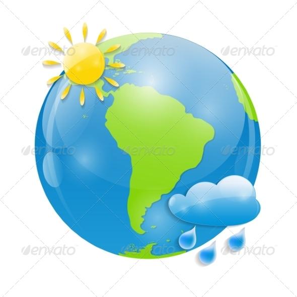 GraphicRiver Weather Icon Illustration 7809056