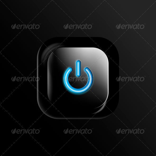 GraphicRiver Power Button 7811788