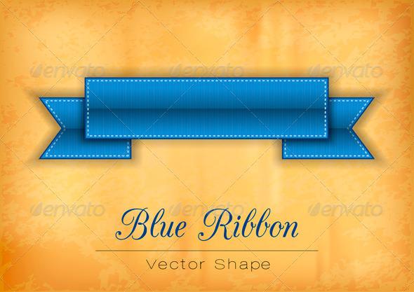 GraphicRiver Blue Ribbon 7811814