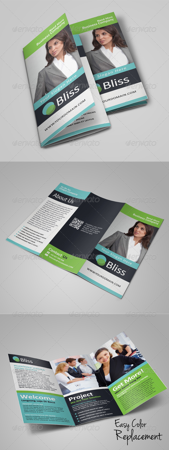 GraphicRiver Multipurpose Business Trifold Brochure 7795121