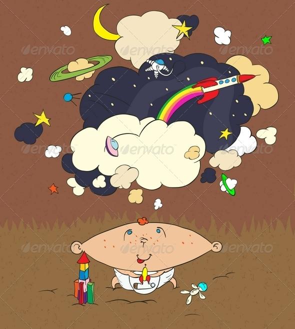 GraphicRiver Children s Dreams 5807450