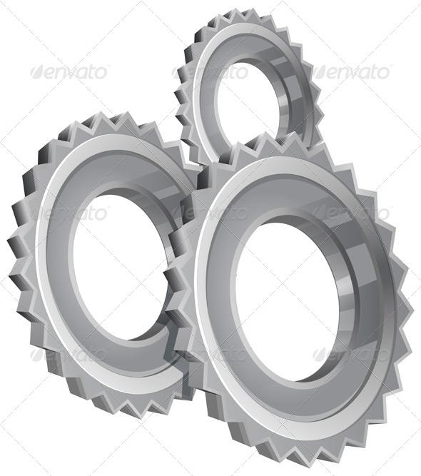 GraphicRiver Gear Setting Icon Set 7812262