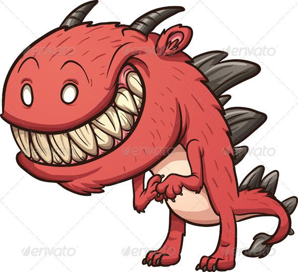 GraphicRiver Cartoon Monster 7812344