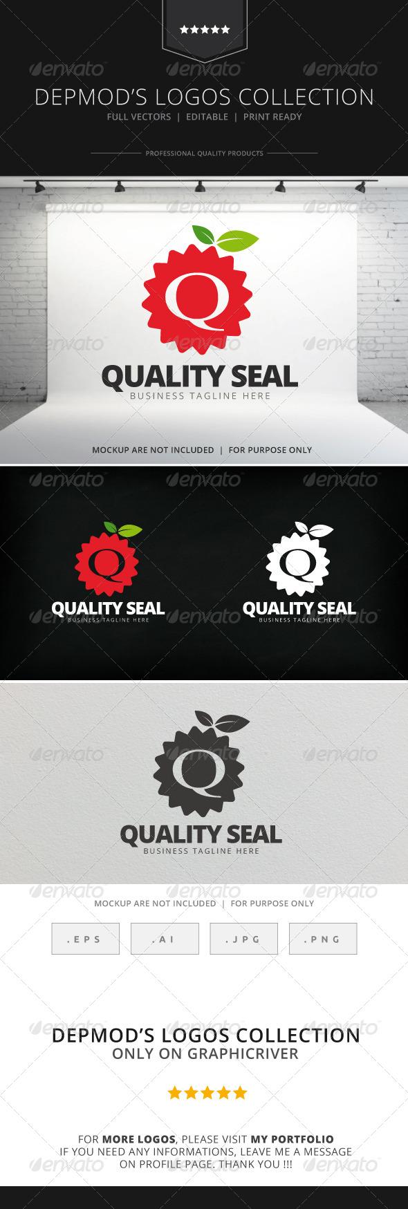 GraphicRiver Quality Seal Logo 7812400