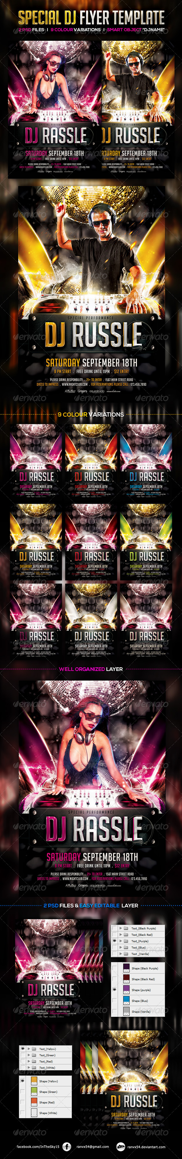 GraphicRiver Special DJ Flyer Template 7812801