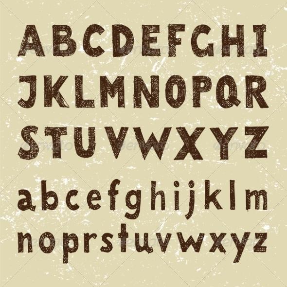 GraphicRiver alphabet 7813049