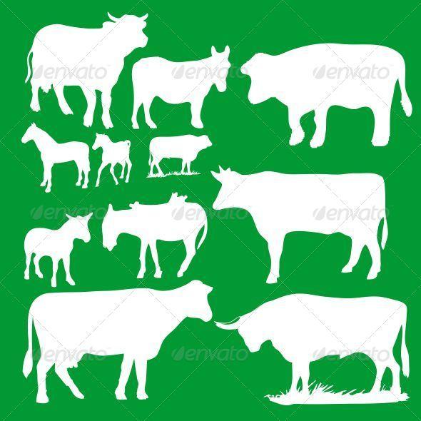 GraphicRiver Animal Silhouettes 7813626
