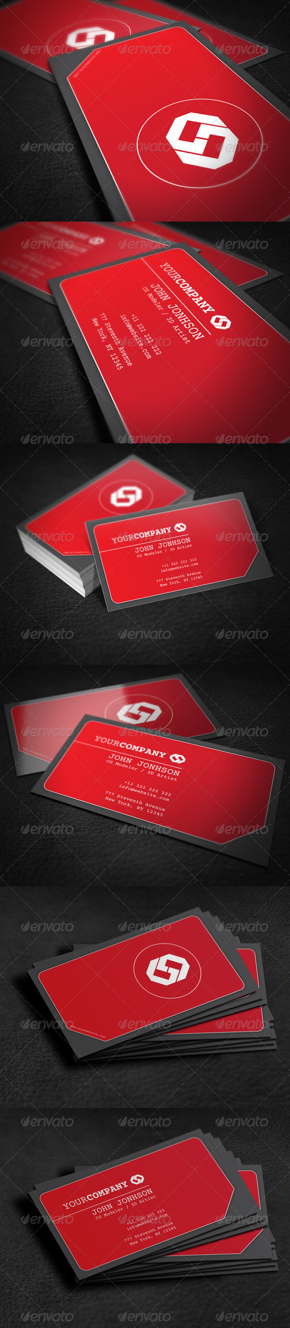 GraphicRiver Creative Corporate Business Card 7813836