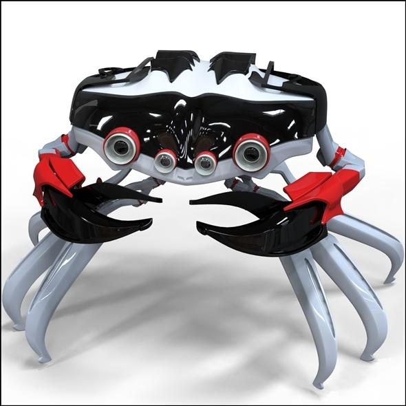 3DOcean Robo-crab 7814107