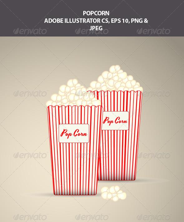GraphicRiver Popcorn 7814170