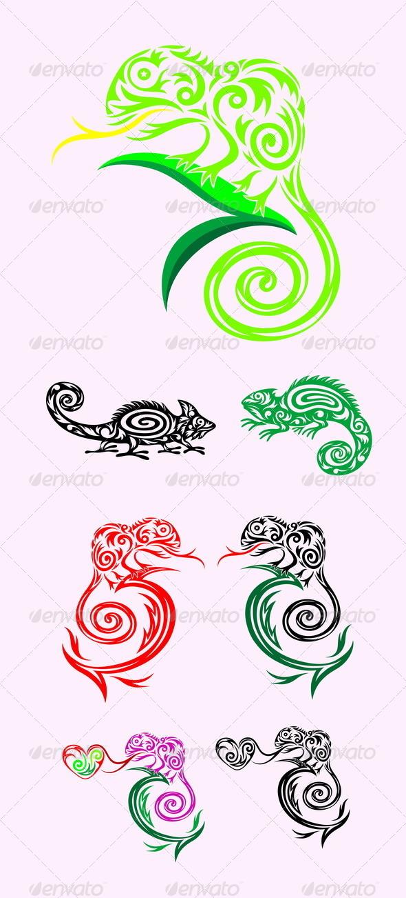 GraphicRiver Chameleon 7814625