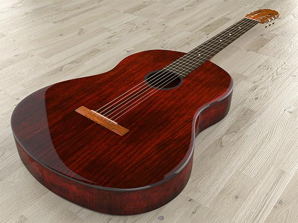 3DOcean Acoustic Guitar 7814892