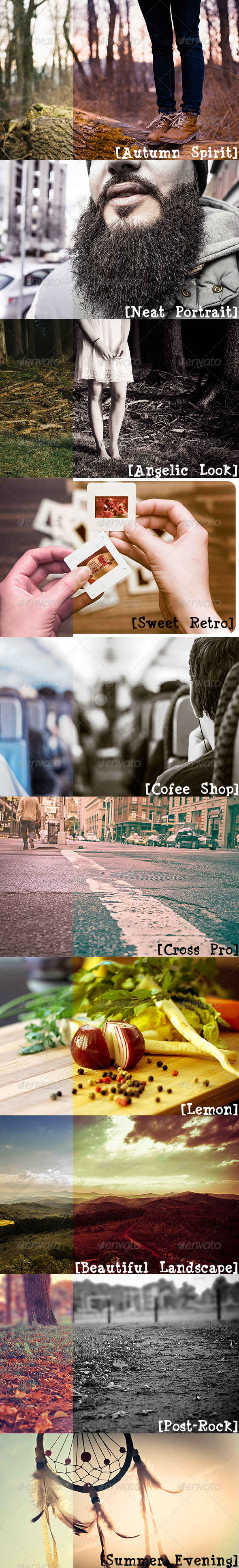 GraphicRiver Hipster Collection 10 Presets 7814963