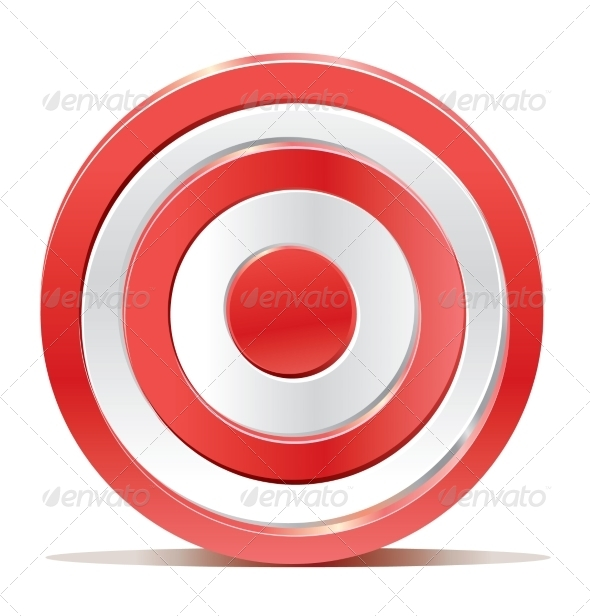 GraphicRiver Target on White Background 7815349