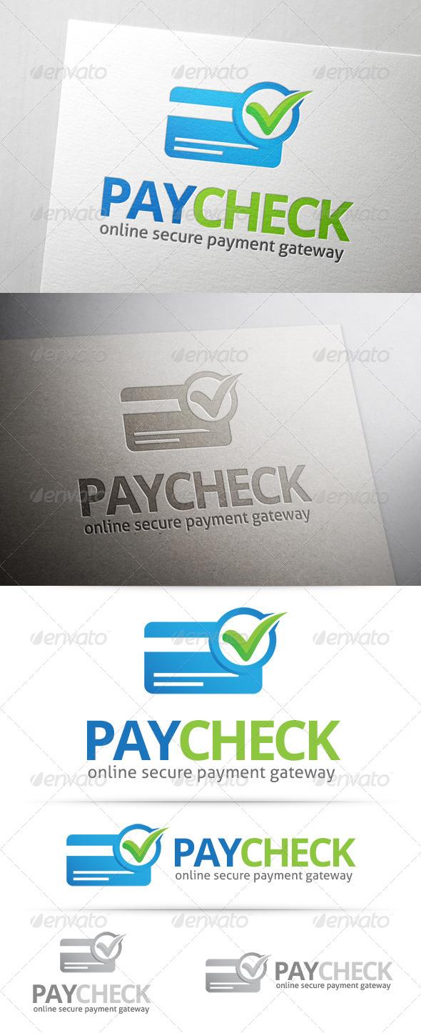 GraphicRiver Payment Check Logo 7816447