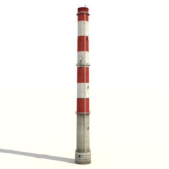3DOcean Big Tall Chimney 7817459
