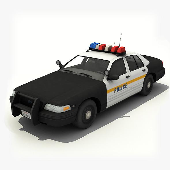 3DOcean Police Car 7817493