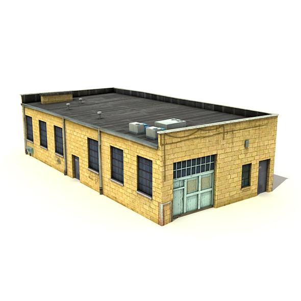 3DOcean Big Yellow Warehouse 7817666