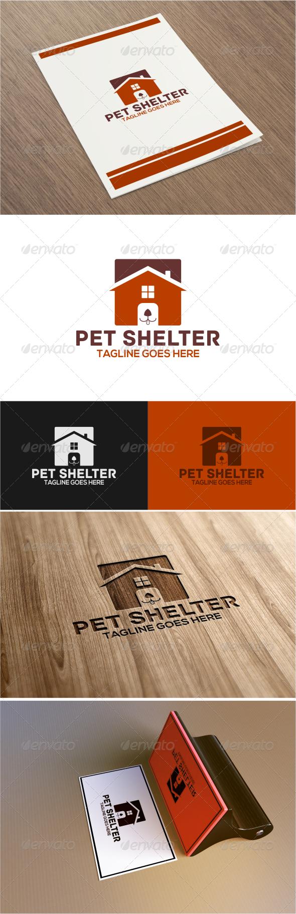 GraphicRiver Pet Shelter Logo Template 7817834