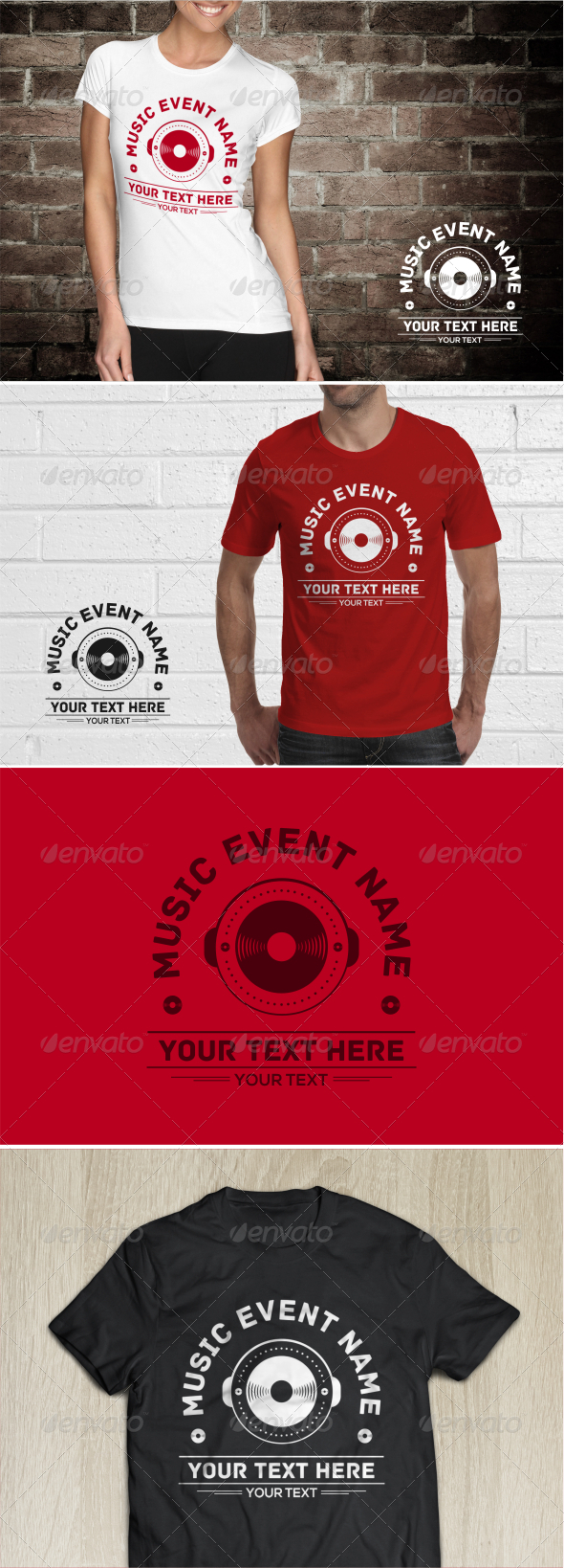 GraphicRiver Music Event T-Shirt 7803625