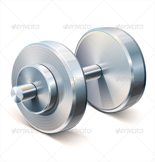 GraphicRiver Dumbbell 7818466