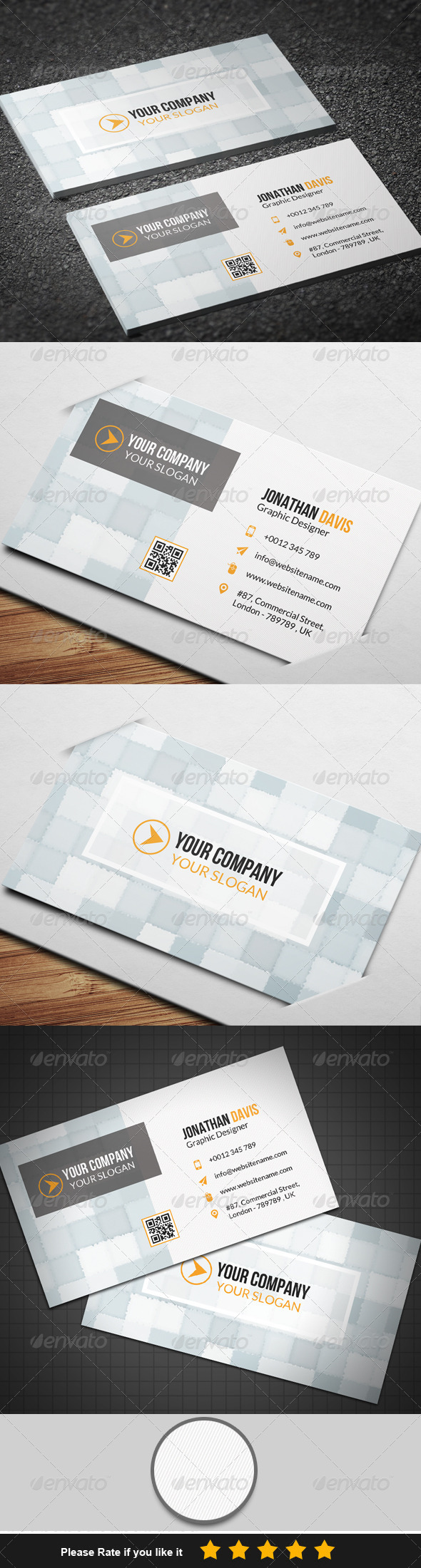 GraphicRiver Corporate Business Card 8 7820468
