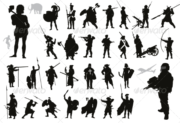 GraphicRiver Warriors Collection 7822416