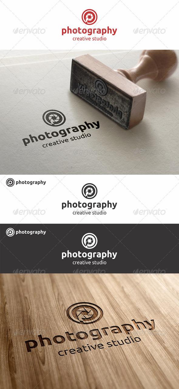 GraphicRiver Photography Studio Logo Letter P 7822857