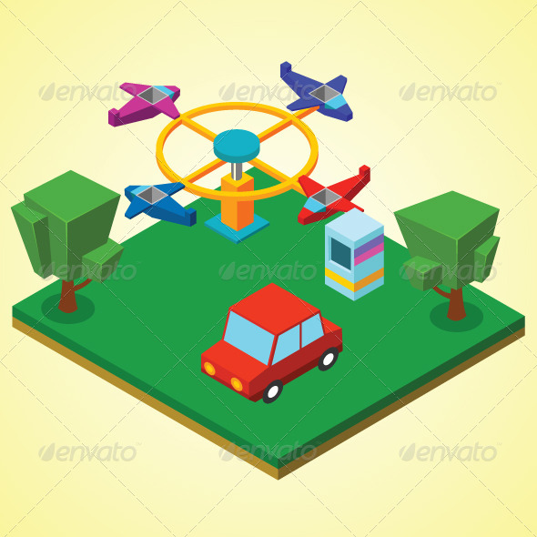 GraphicRiver Carnival Airplanes 7823317
