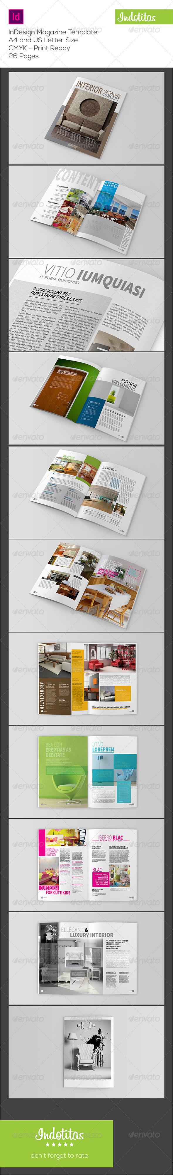 GraphicRiver Interior Magazine Template 7824656