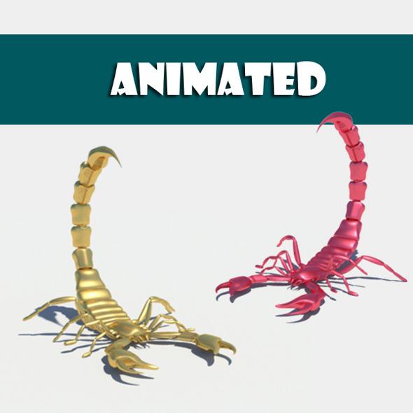 3DOcean Scorpion 7826144