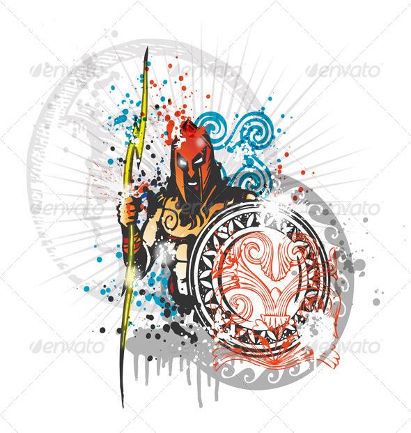 GraphicRiver Roman Warrior 7826180