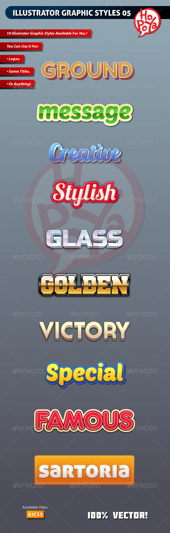 GraphicRiver Illustrator Graphic Styles 05 7826431