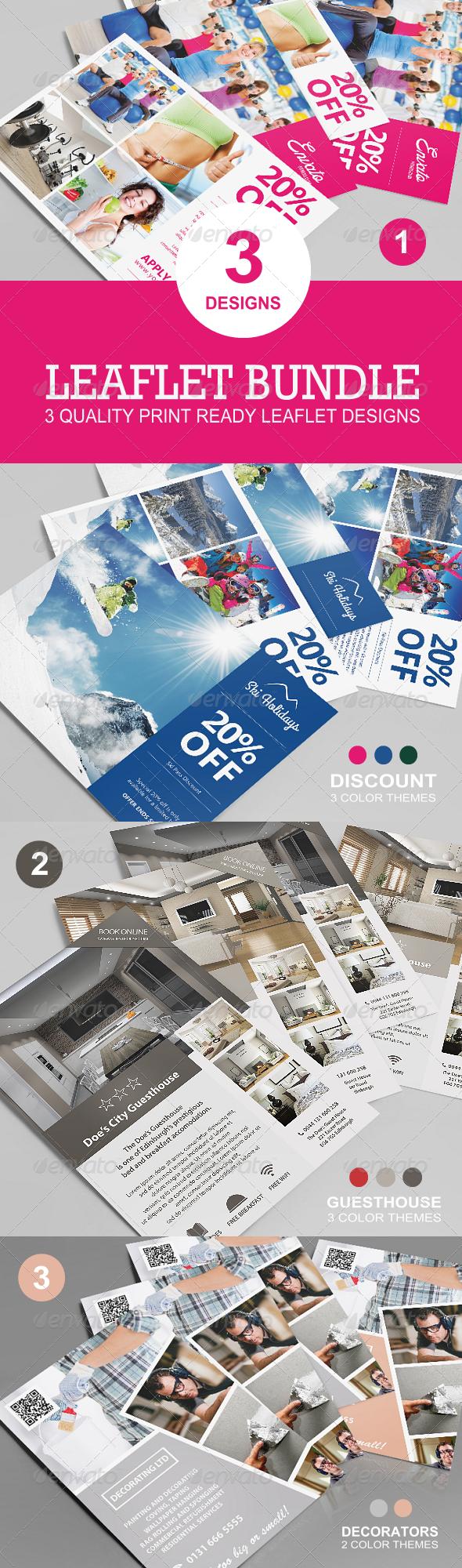 GraphicRiver Leaflet Bundle 7827968