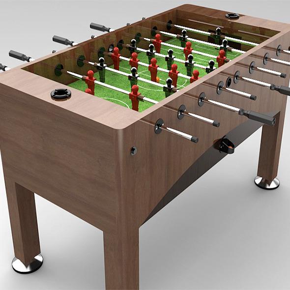 3DOcean Soccer Table 7828053