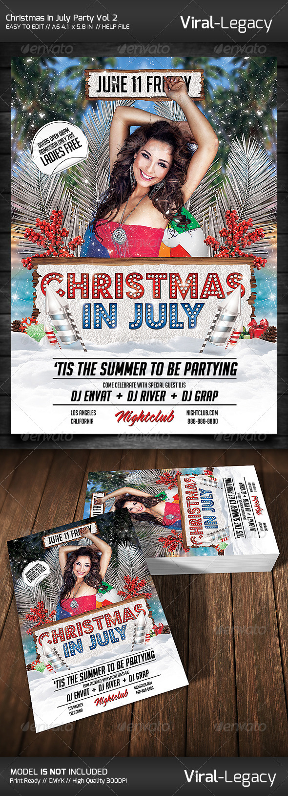 GraphicRiver Christmas in July Vol 2 7808532